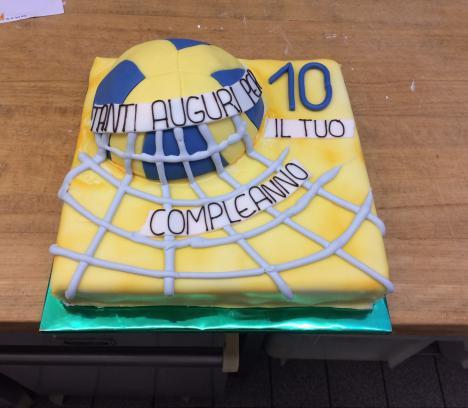 Volleyball-Torte